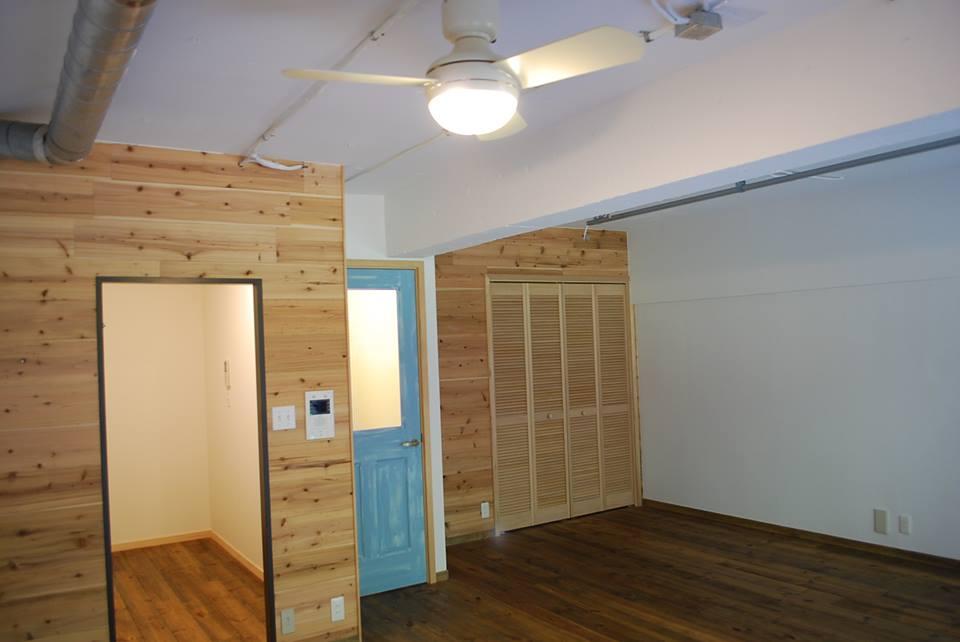 リノベーション後の室内の様子