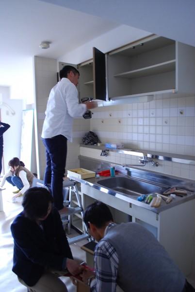 キッチンDIY作成中