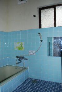リノベーション前浴室