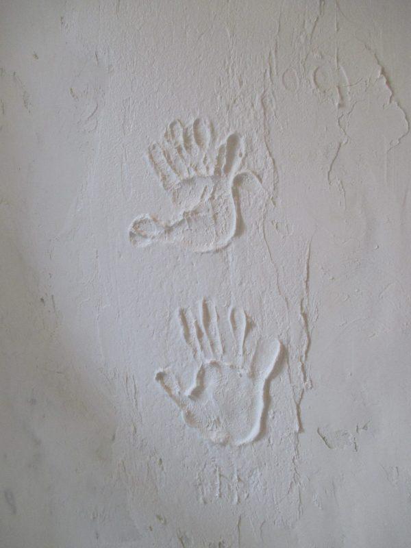 子供の思い出の手形
