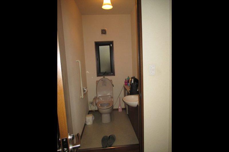 1階トイレビフォー