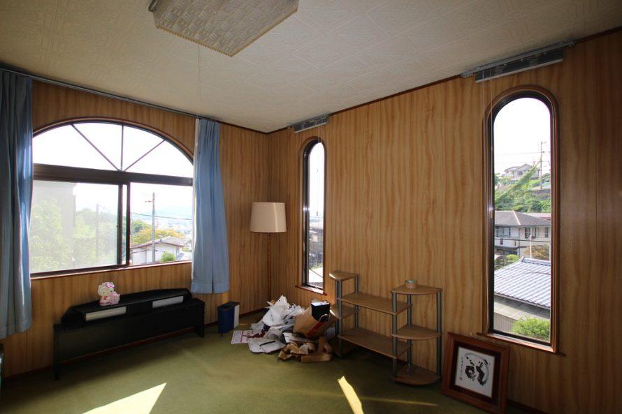 2階・一番手前の部屋(外側から見て)