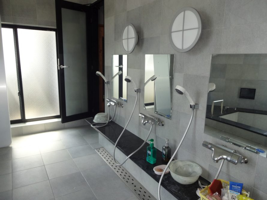 3つのシャワー