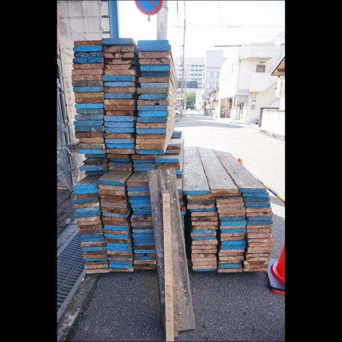 足場板の木材