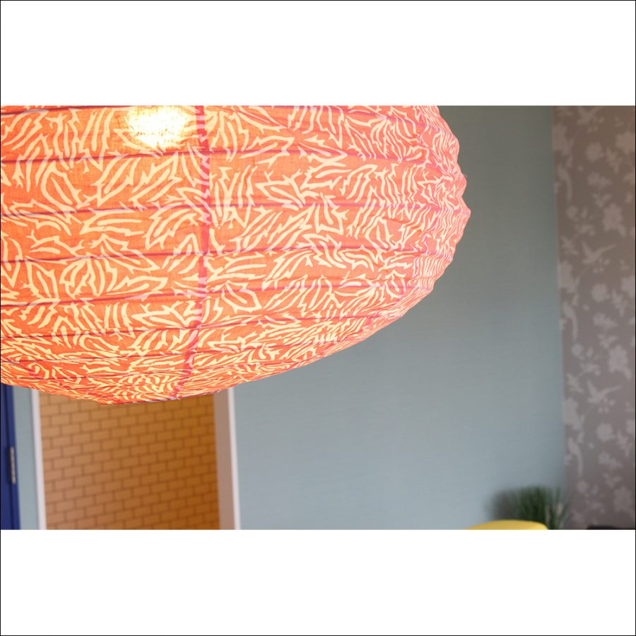 柔らかい光が部屋全体を静かにとぼします