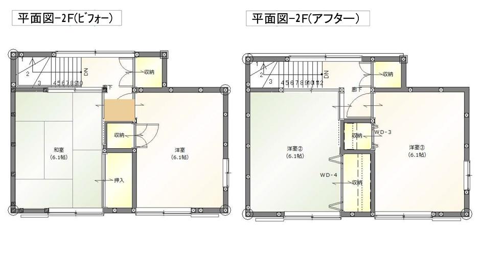 平面図二階