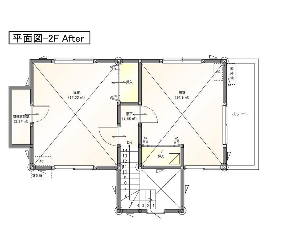 平面図-2FAfter