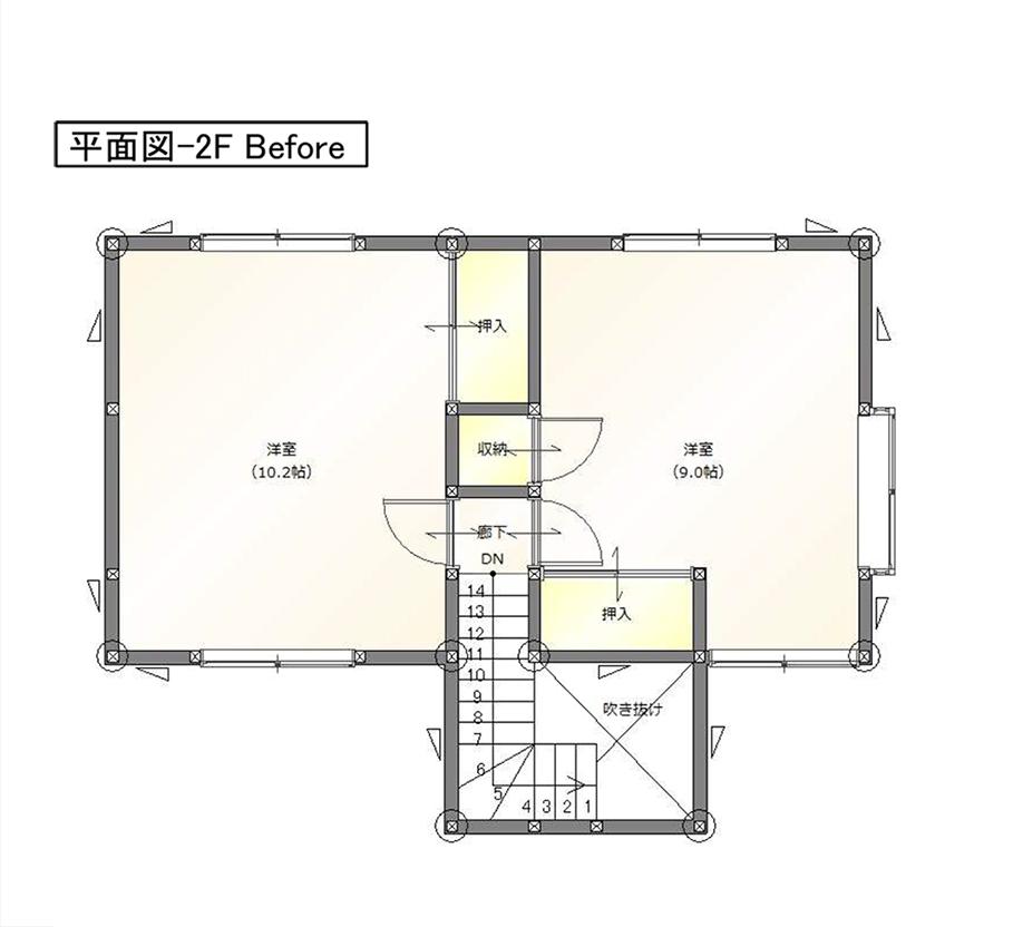 平面図-2FBefore