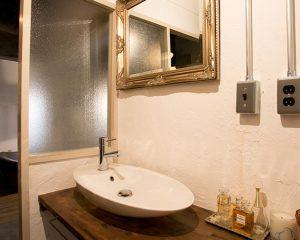ゴージャス感のある洗面化粧台