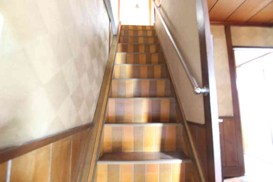 リビングにあった階段
