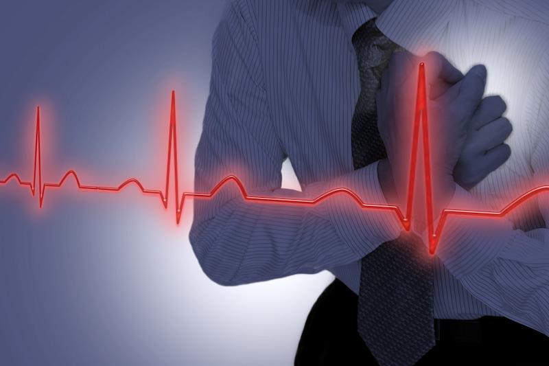 ヒートショックによって血圧が急変して脳梗塞や心筋梗塞