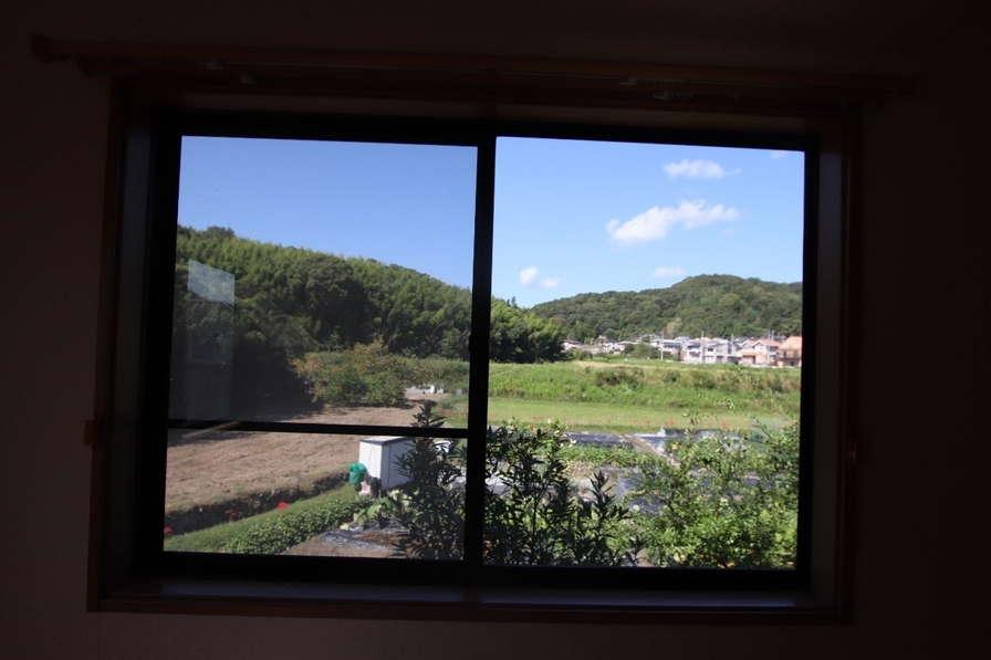 心地いい窓からの景色