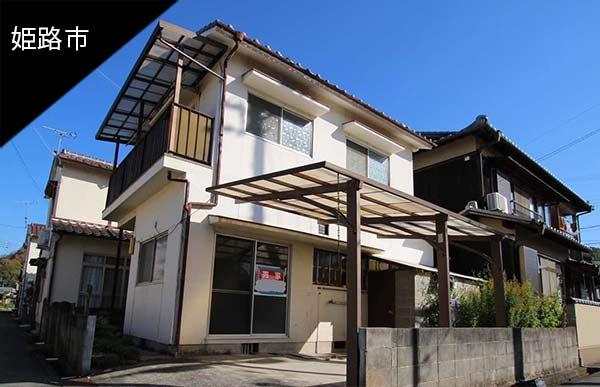 姫路市大塩町 レトロガラスの映える家