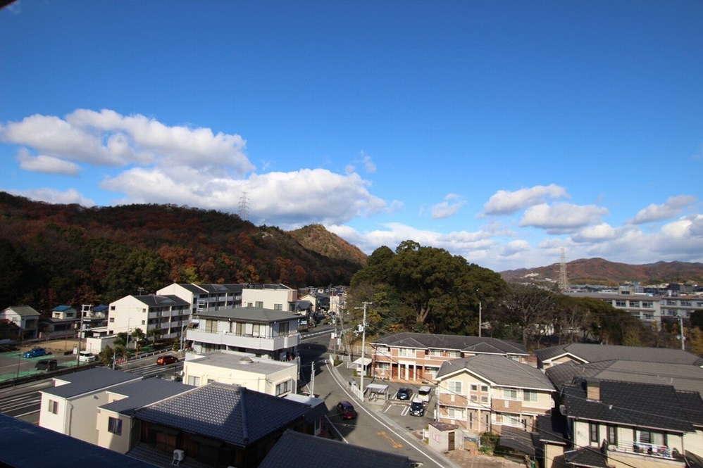 鬢櫛山(びんぐしやま)の眺望