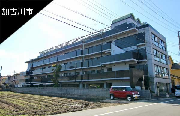 リノベ向きマンション@加古川市加古川町|メンズライクな外観にホレるマンション