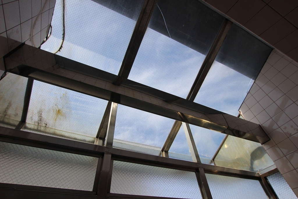 浴室に天窓