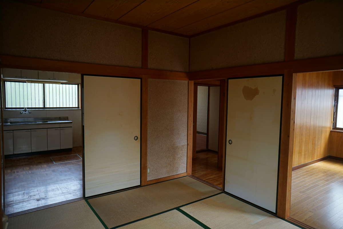 キッチン+和室→LDK_before