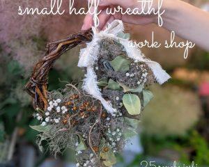 6月17日(木) 『第25回リノベ女子会(small half wreathe workshop)』を開催。