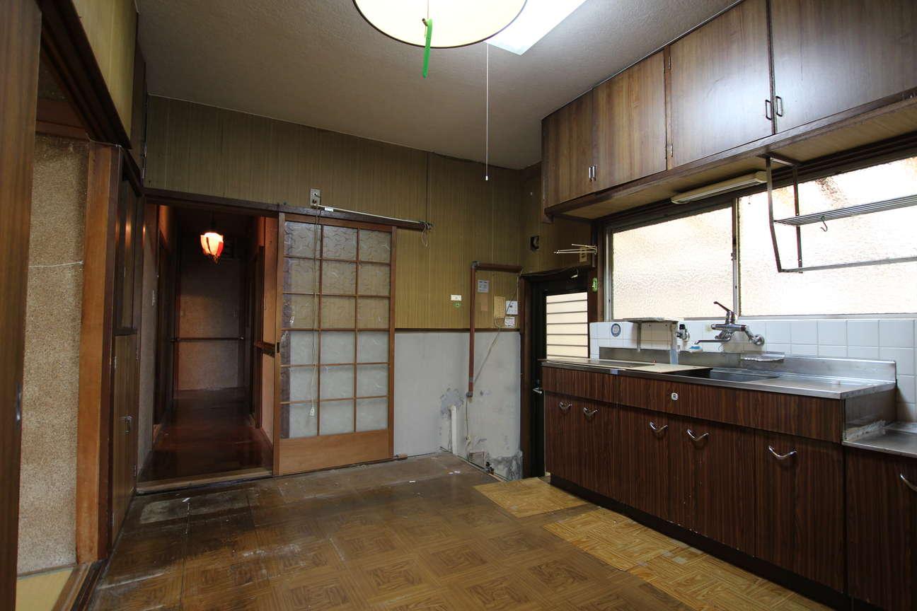 キッチン→洗面・バスルーム_before
