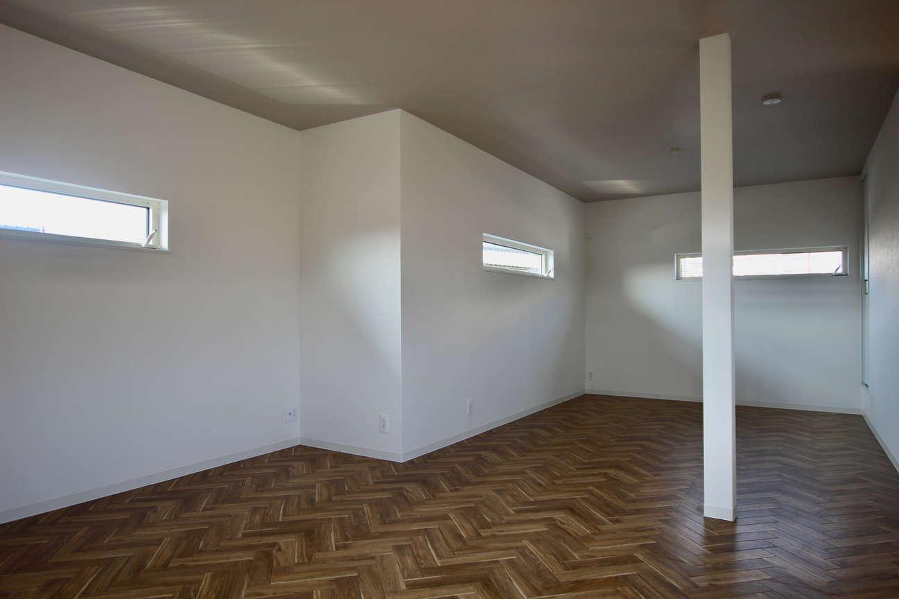 2階和室2部屋→2階洋室ワンルーム(2)_after