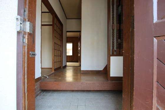 玄関の上り框