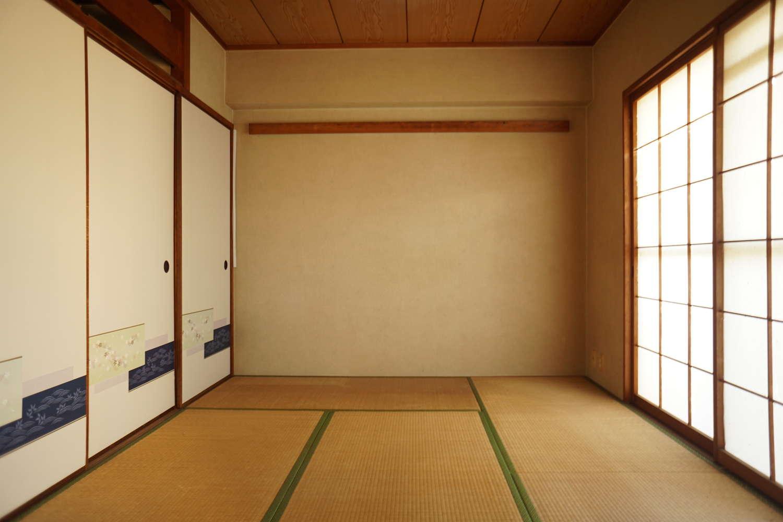和室①→書斎・インナーガーデン_before