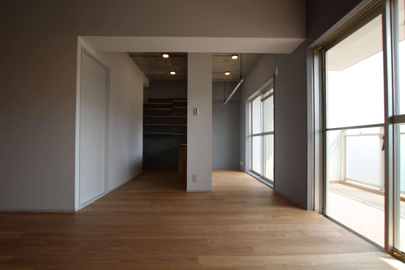 和室(1)→書斎・インナーガーデン