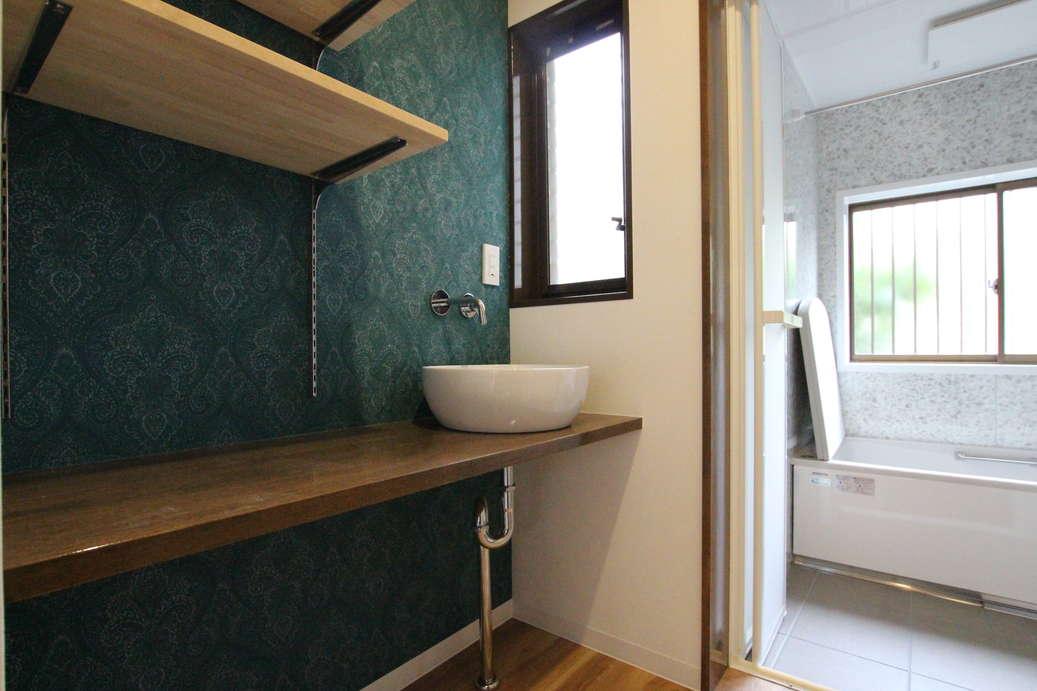 手洗い・浴室after